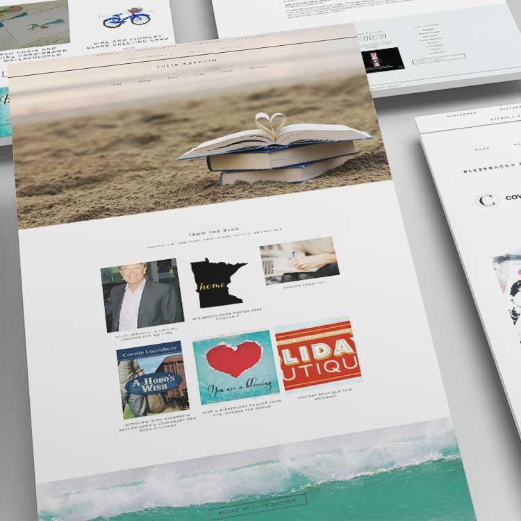 Julie Saffrin Website Design Monarkk