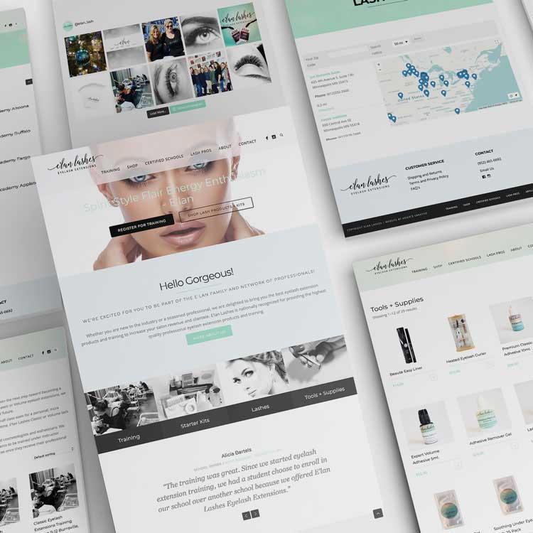 Elan Lashes Eyelash Extension Supplier Website Monarkk
