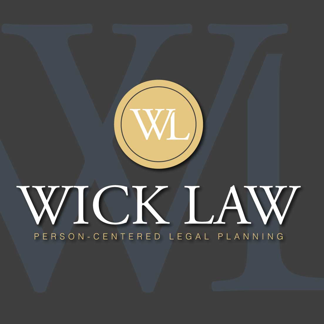 David Wick Law - Person Centered Legal Planning Logo Design
