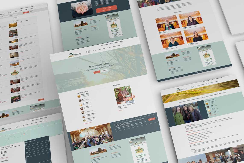 Trondhjem Lutheran Church Website Design
