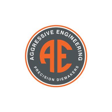 Aggressive Engineering Precision Diemakers Logo Design Monarkk Studio