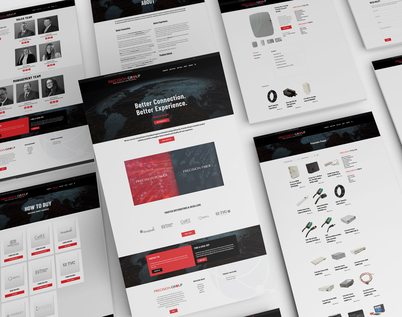 Precision Group Website Design Prior Lake Minnesota Monarkk Studio