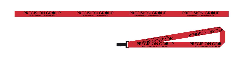 Precision Group Keychain Lanyard Design Monarkk Studio