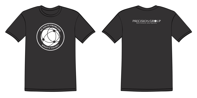 Precision Group T Shirt Design Print Design Monarkk Studio
