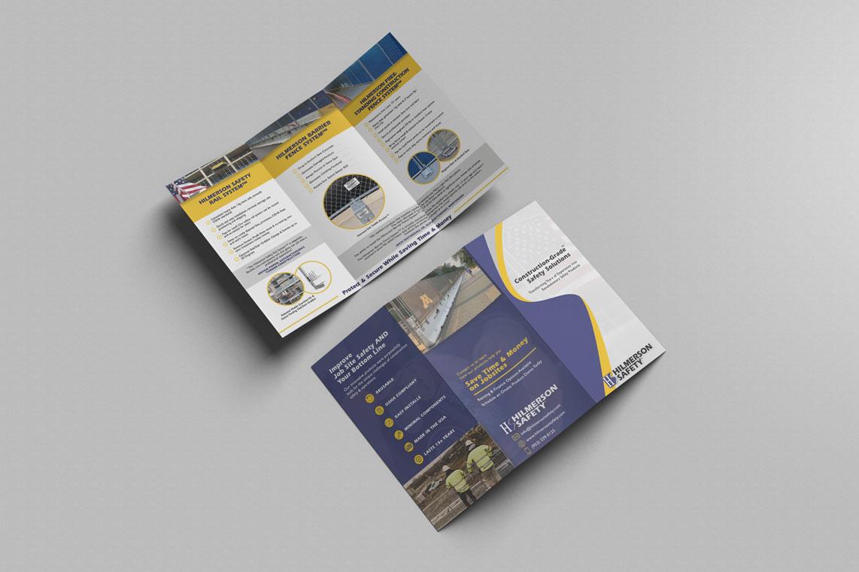 Hilmerson Safety Brochure Print Design Monarkk