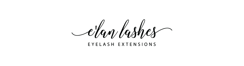 Elan Lashes Eyelash Extension Logo Design Monarkk