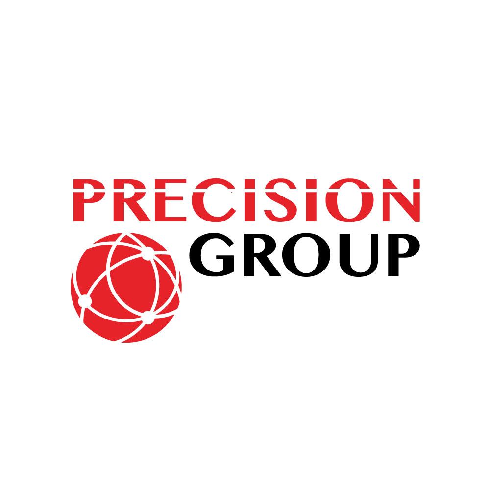 Precision Group, Precision Power, and Precision Fiber Logo Design