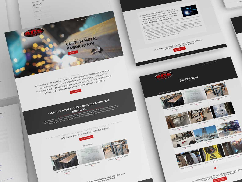 Anth's Chop Shop Website Design Monarkk