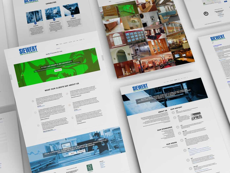 Siewert Cabinet Website Design Monarkk