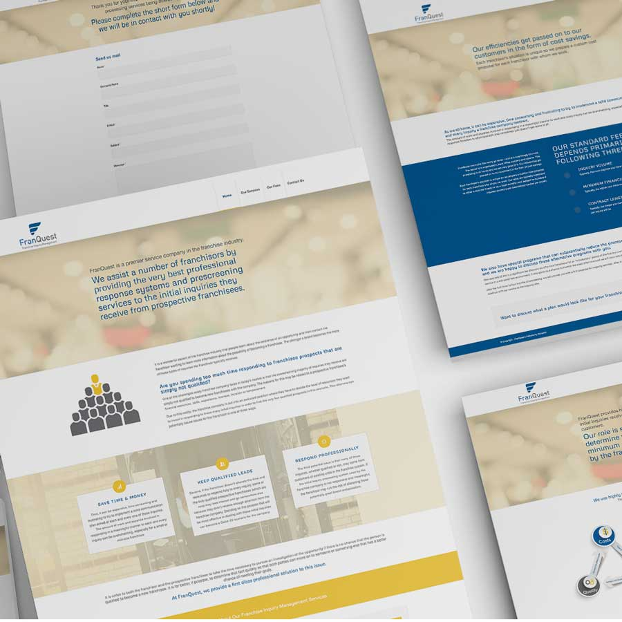 FranQuest Website Design Monarkk